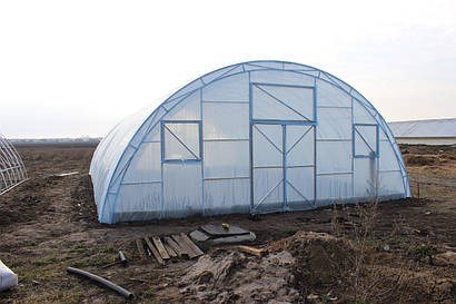 "Фермерская теплица ""Урожай"" 8х10 под двухслойную плёнку"