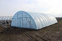 """Фермерская теплица """"Урожай"""" 8х10 под один слой плёнки"""
