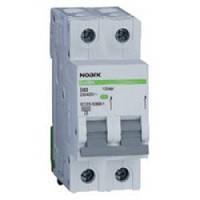 Автоматический выключатель Noark, Чехия,  Ex9BN 6kA (2Р С40)  (2 -х полюсный C40А)