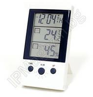 Цифровой термометр гигрометр ЖК wsd-2