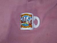 """Магнит чашка с изображением города """"Днепр""""  6,5 сантиметров"""