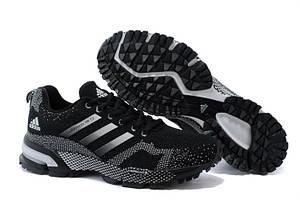 Кроссовки Adidas Marathon TR13 Flyknit Black White