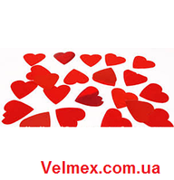 Бумажная нарезка конфетти BiG 4401 - СЕРДЦА КРАСНЫЕ