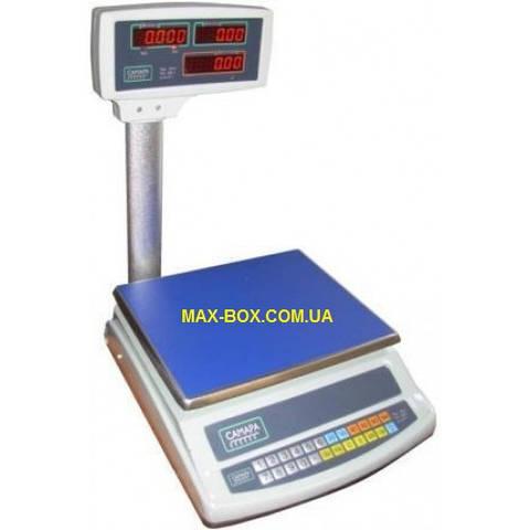 Весы торговые 30 кг с поверкой ВТЕ-30-Т2-СМ