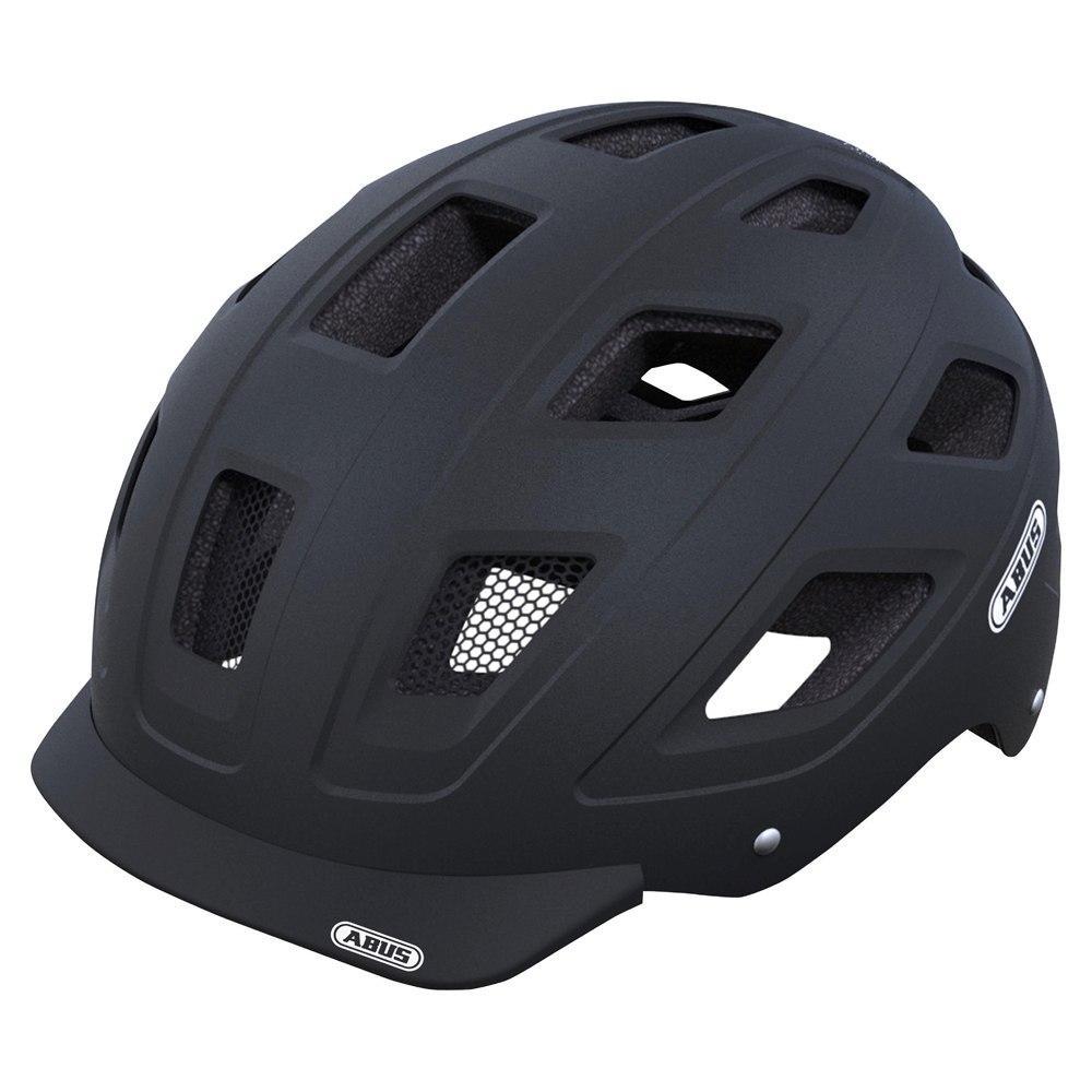 Велошлем ABUS HYBAN Velvet Black (L)
