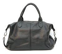 Женская кожаная сумка Черная 20HF