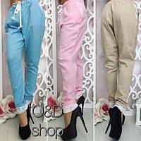 Женские красивые льняные брюки (3 цвета)