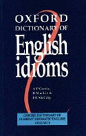 Oxford Dictionary of English Idioms, Second Edition: Paperback