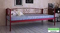 Кровать металлическая  Дарина Люкс / Darina LUX односпальная 80 (Метакам) 850х2080х770 мм , фото 1