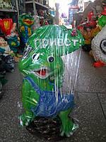 Садовая фигура Лягушка - ПРИВЕТ