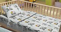 Хлопковое постельное белье для новорожденных COCO LT14