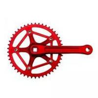 Шатуны (комплект) PROWHEEL SINGL VIVE-246T-3 46T 170мм red