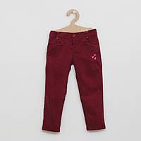 Бордовые штаны для девочки