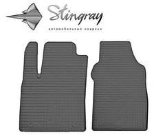 """Коврики Резиновые """"Stingray"""" на Fiat 500 (c 2007---) фиат 500"""