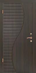 """Входная металлическая дверь""""Портала"""" (серия Комфорт) ― модель Волна"""