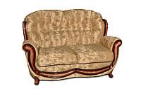 """Кожаный мягкий диван """"Jove"""" (Джове) Двухместный (150 см), Не раскладной, ткань"""