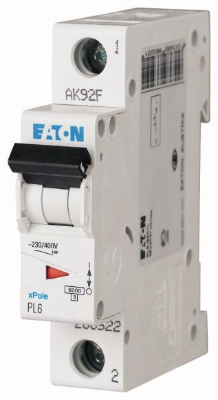 Автоматический выключатель EATON PL6 1п 16А В 6 кА