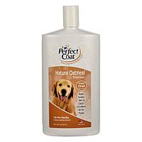 Шампунь 8 in 1 Perfect Coat Natural Oatmeal Shampoo для собак, с овсяной мукой, 947 мл