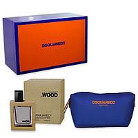DSQUARED2  HE WOOD set M (edt 50 + сумка)