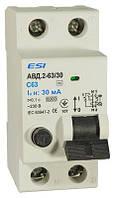 Автоматический выключатель дифференциального тока АВД2-63 2п С16/30мА, 6кА, 2 п, 16 А, 30 мА