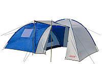 Coleman 2908 четырехместная кемпинговая палатка (Польша) с большим тамбуром