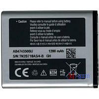 Аккумулятор Samsung B5722 Duos,B7722 Duos,D780 Duos G810,I550,I5500,I8510,I8510 (AB474350BU)1200mA/ч