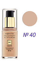 Max Factor  Тон.основа  Facefinity All Day Flawless 3in1  №40  30 мл Код товара 778