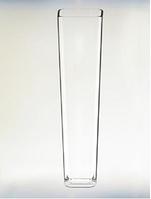 Ваза стекло H-47 см D-11,5 см