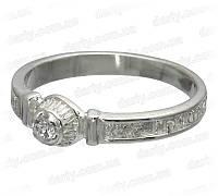 Серебряное охранное кольцо 1022к., фото 1