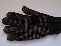 Перчатка рабочая, синтетика с ПВХ покрытием (пупырышки)