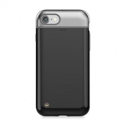 "TPU+PC чехол STIL Mystic Pebble Series для Apple iPhone 7 / 8 (4.7"") Черный / Zet Black"