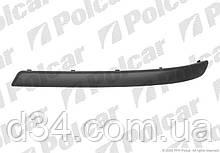 Молдинг бампера передн (черн) Opel Corsa 03-10