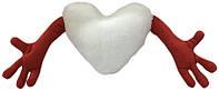 """Подушка-обнимашка в форме """"Сердце"""", красная"""