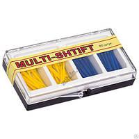 Штифты беззольные Multi-Shtift желтые, синие 80 шт.