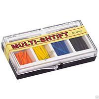 Штифты беззольные Multi-Shtift ассорти 4 вида 80 шт. + 2 развертки