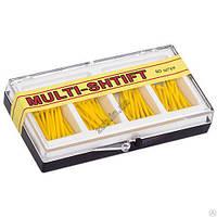 Штифты беззольные Multi-Shtift желтые 1,2 мм. 80 шт.