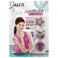 Набор для творчества Мастер макияжа - Тату с эффектом украшений, Alex (623020-3)