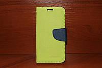 Чехол (книжка) Mercury Goospery для Lenovo A6000 / A6010 / K3 зеленый