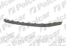 Спойлер бампера переднего Opel Corsa 03-10