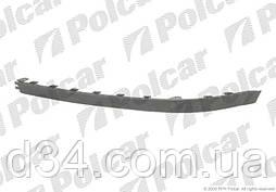 Спойлер бампера переднього Opel Corsa 03-10