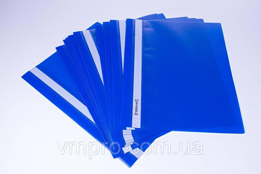 Скоросшиватель для бумаг и файлов (пластик), папки A4, фото 1