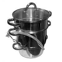Соковарка ST 49 - 000 - 06  объёмом 5 литров , материал нержавеющая сталь.
