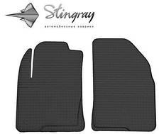 """Коврики Резиновые """"Stingray"""" на Ford Fiesta (2001-2009)"""