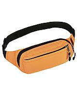 72d0f98915f9 Поясная сумка оранжевая Primo Surikat (бананка, сумка на пояс)