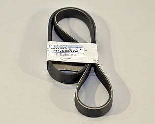 Поліклинові (ручейковий) ремінь на Renault Kangoo II 2008-> 1.5 dCi — Nissan (Оригінал) - 11720-00Q1W