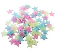 """Наклейка ★ """"Разноцветное звездное небо"""" ★ 100 шт."""