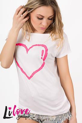 Женская футболка №85-008