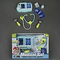 Доктор D 1511 (18/2) звук, свет, на батарейках, 10 предметов, в коробке
