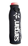 Чехол термос для пластиковой бутылки 0,5-0,6 л Sargan чёрный