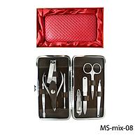 Маникюрно-педикюрный набор в подарочной упаковке Lady Victory MS-mix-08